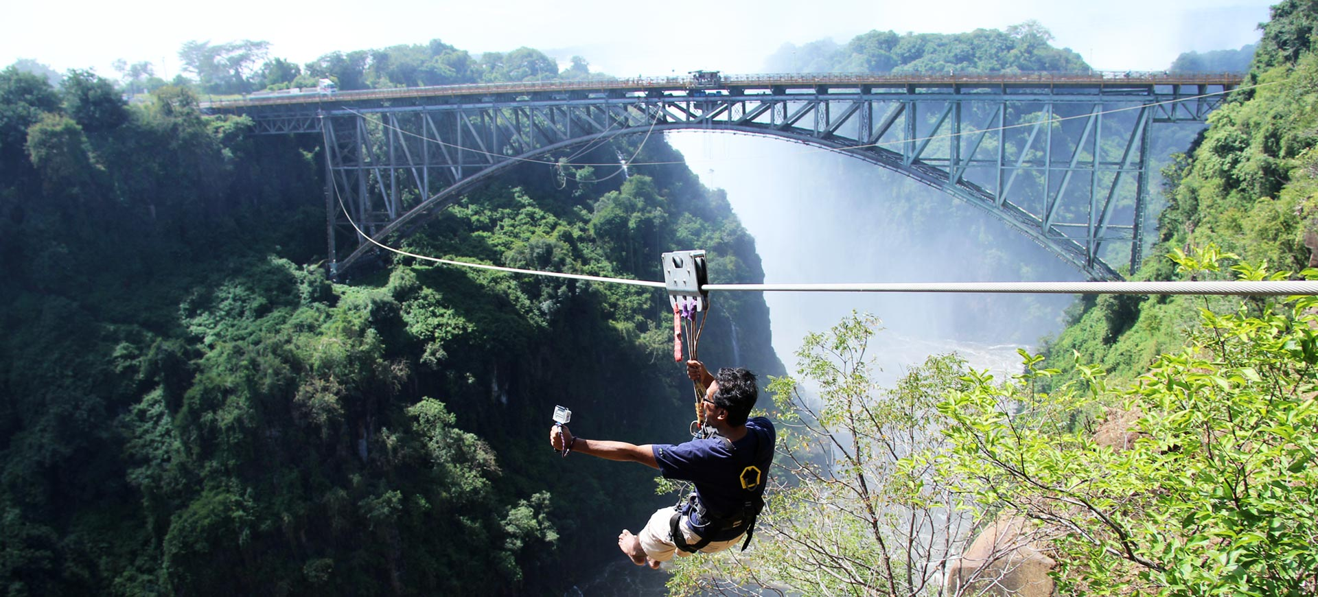 Bridge Slide Vic Falls