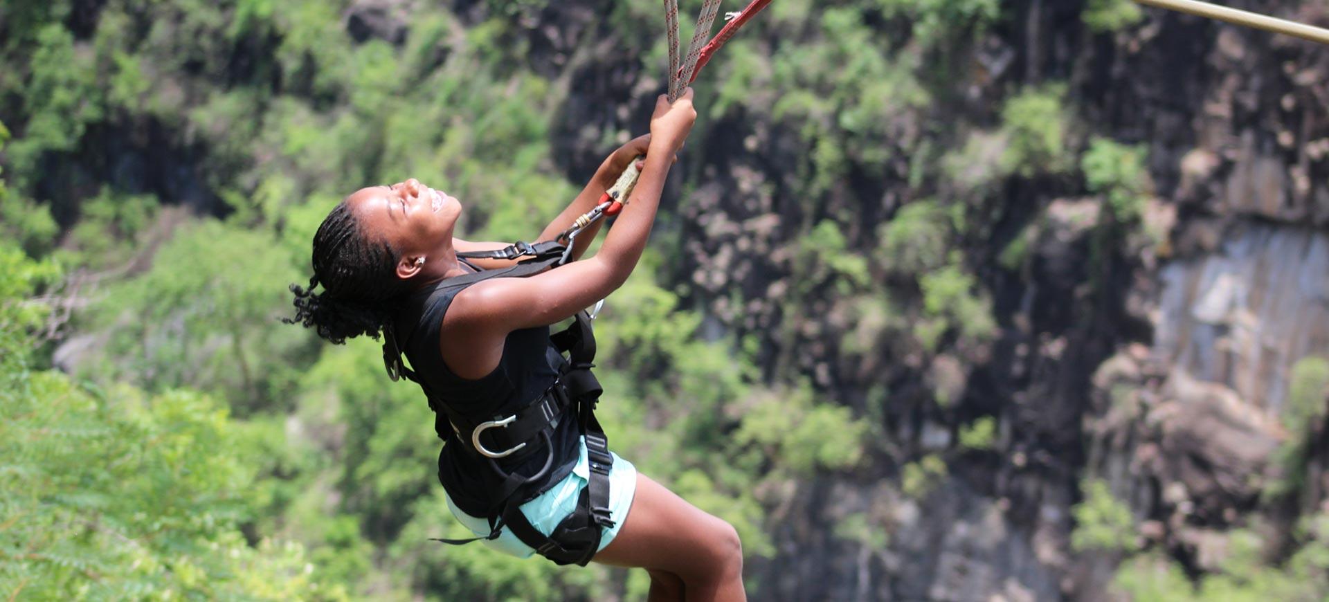 Slide Bridge Victoria Falls