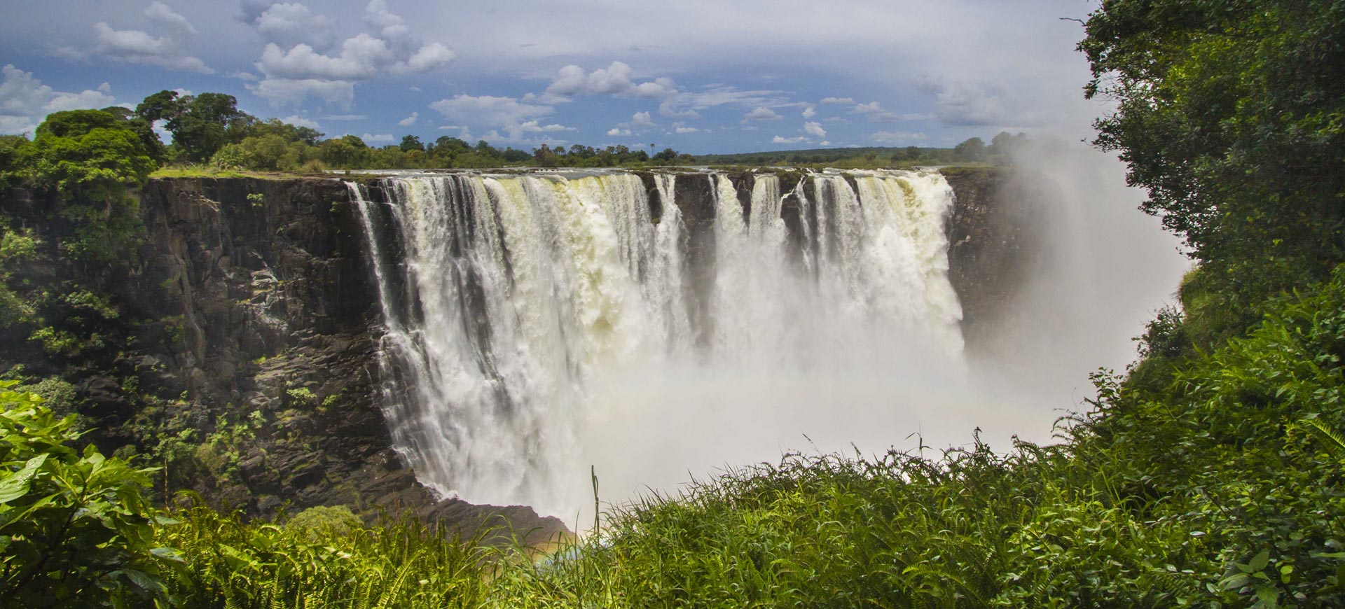 Guided Waterfall Tour Victoria Falls