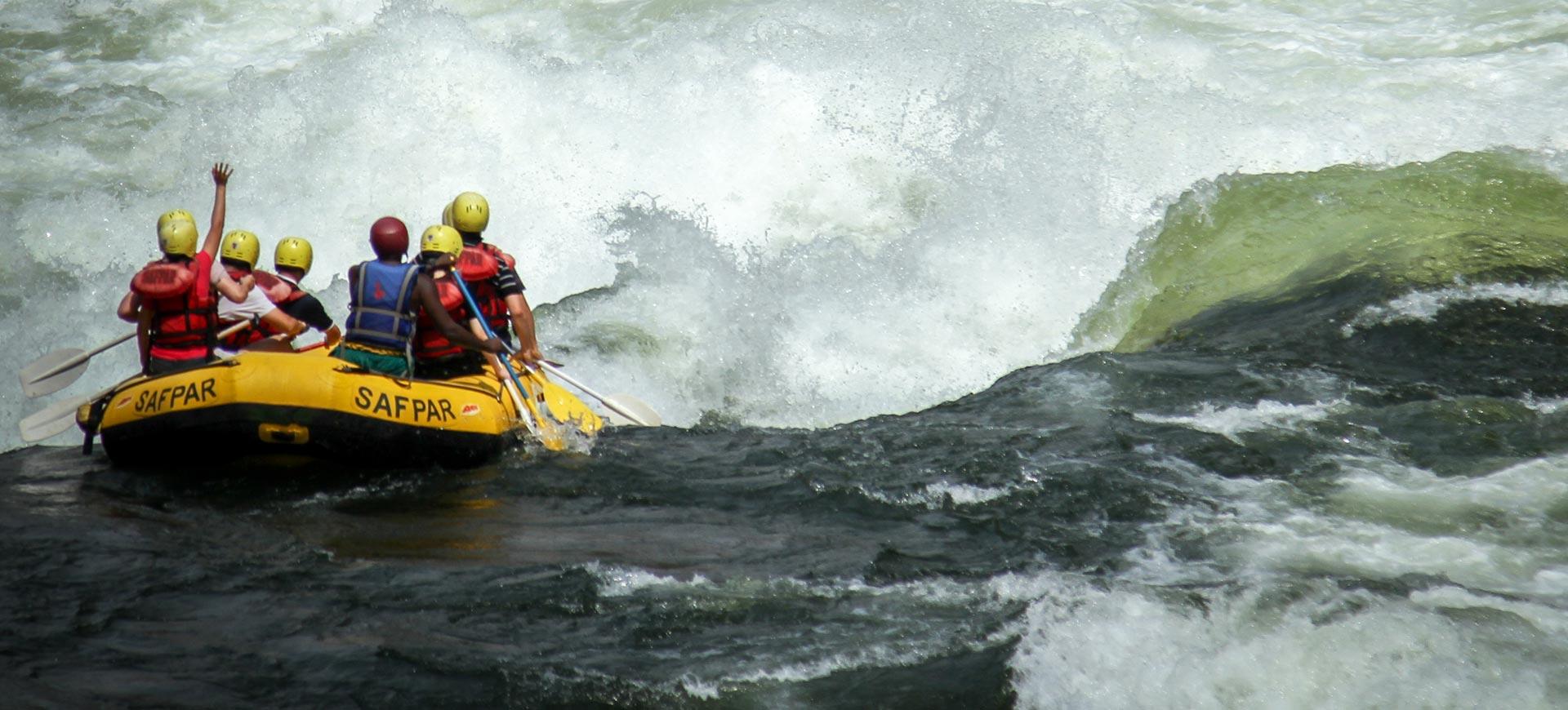 River Rafting Victoria Falls