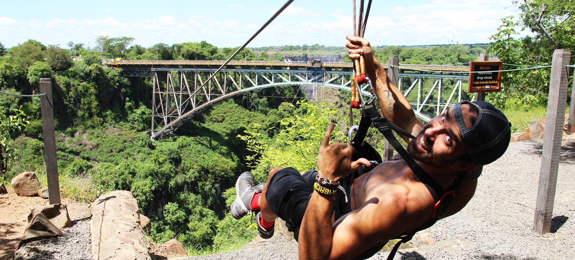 Bridge Slide Victoria Falls