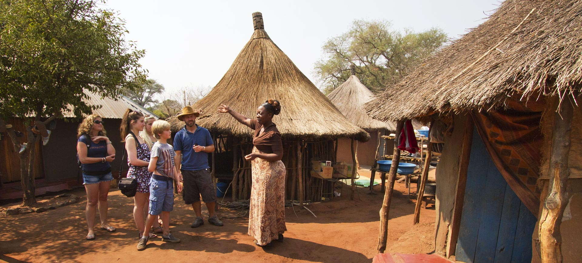 Traditional Village Tour Victoria Falls