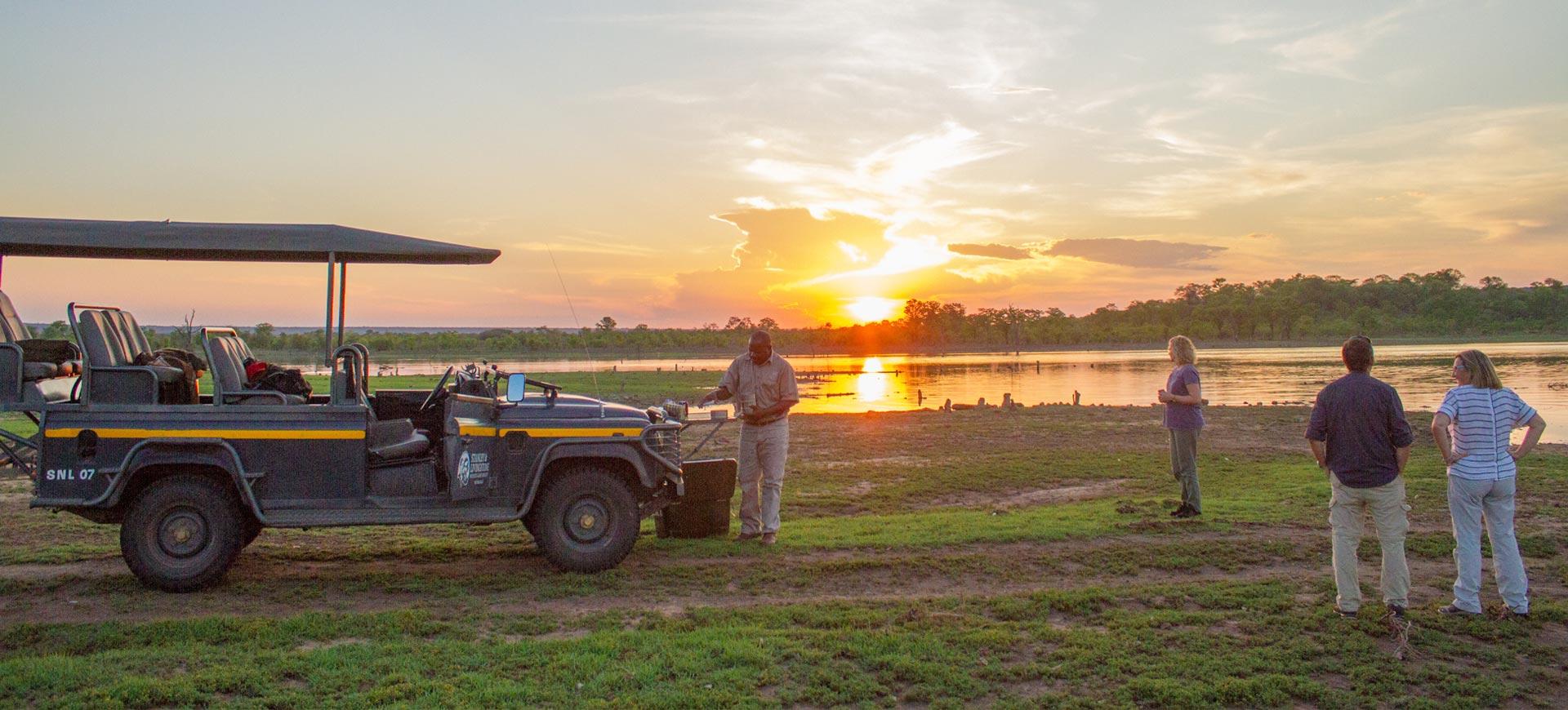 Victoria Falls Safari Game Drive