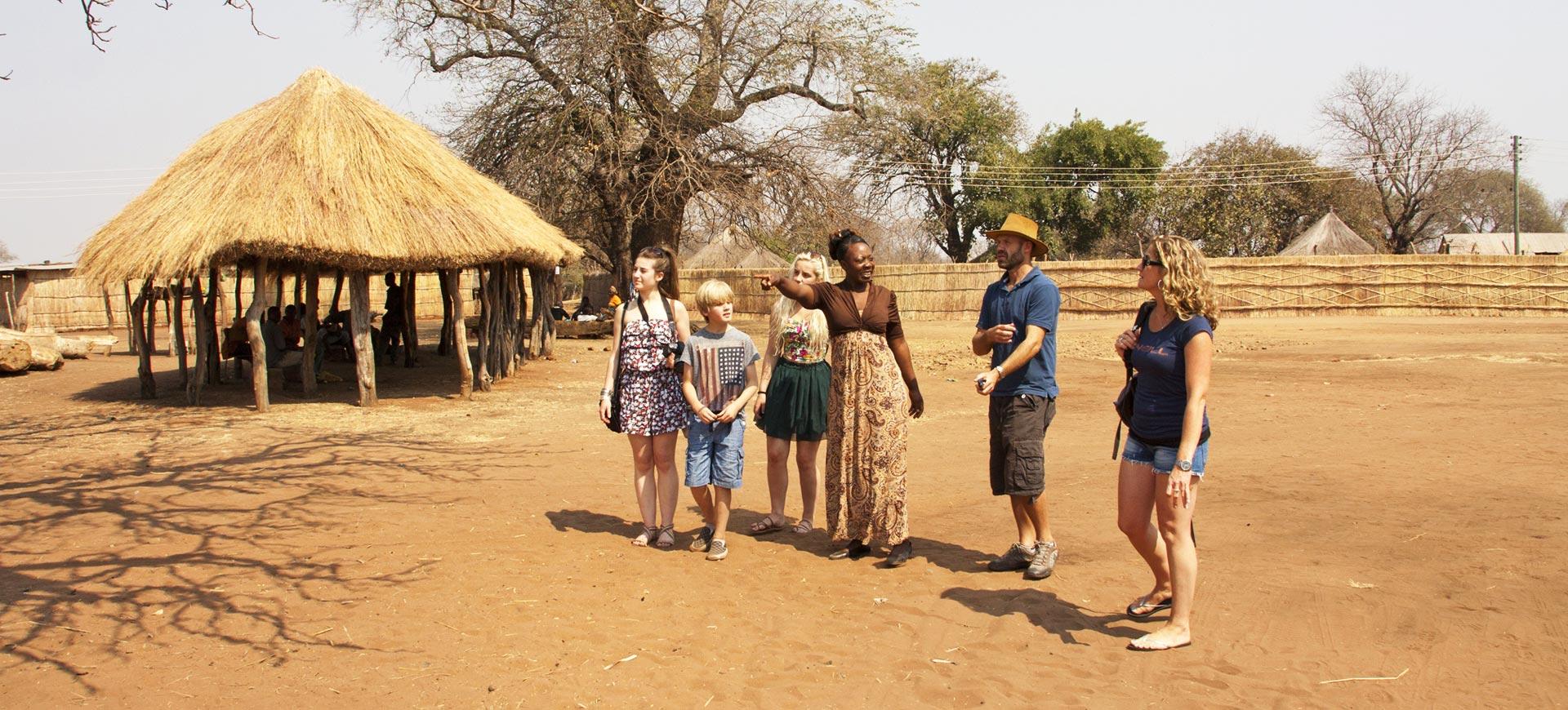 Victoria Falls Village Tour