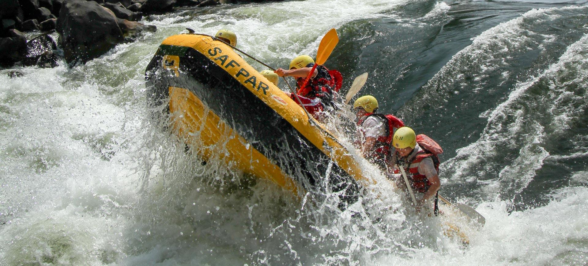 White Water Rafting Zambezi River