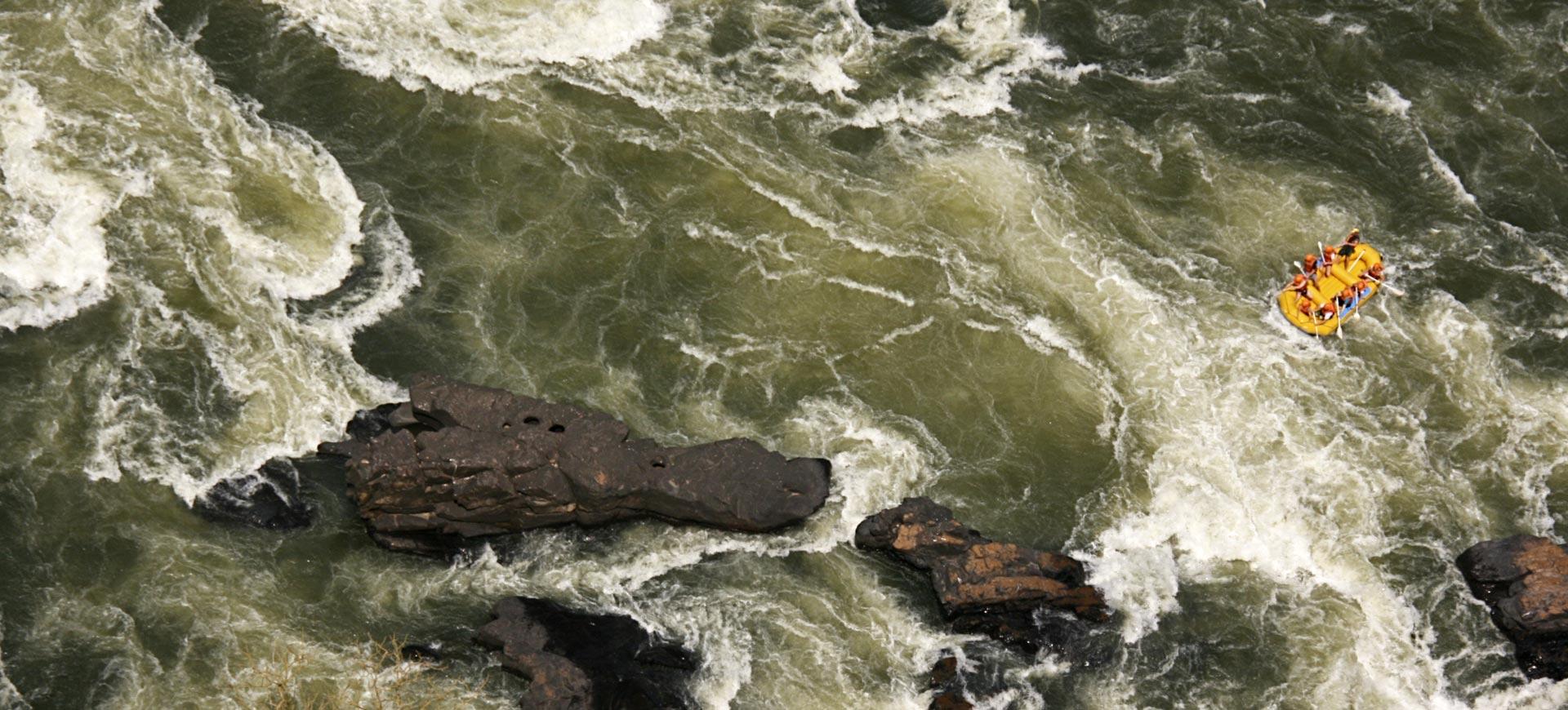 Zambezi River Rafting Victoria Falls