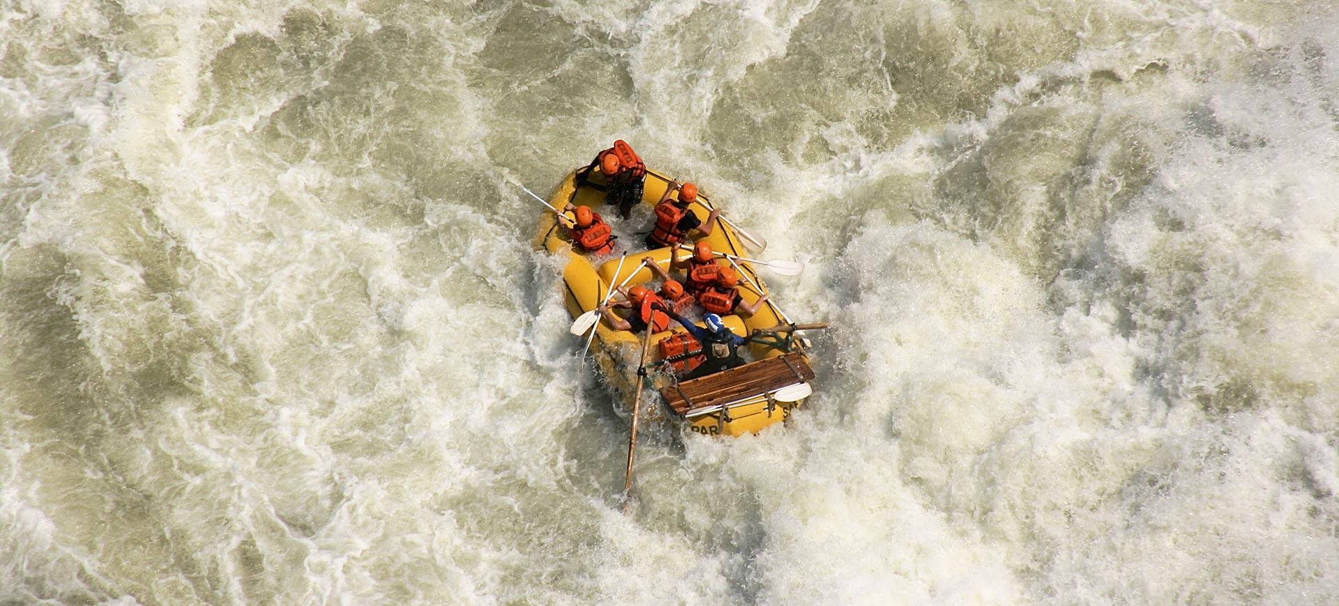 Zambezi River Rafting