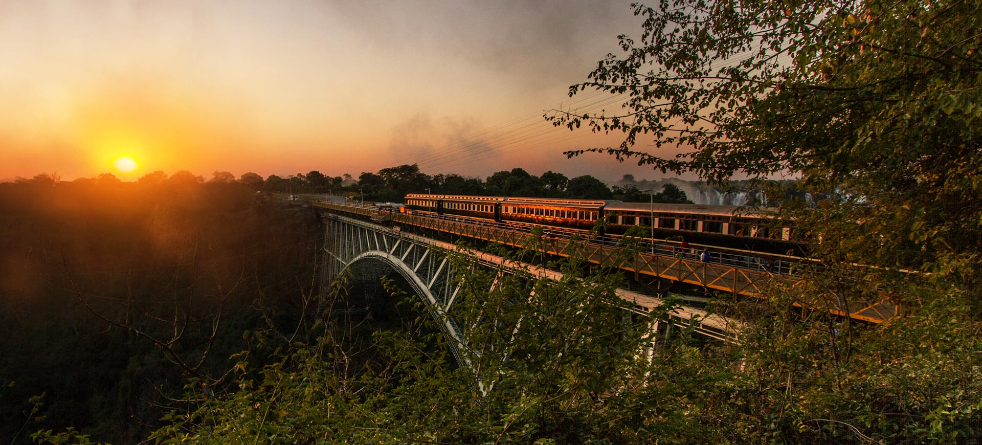 Steam Train Victoria Falls