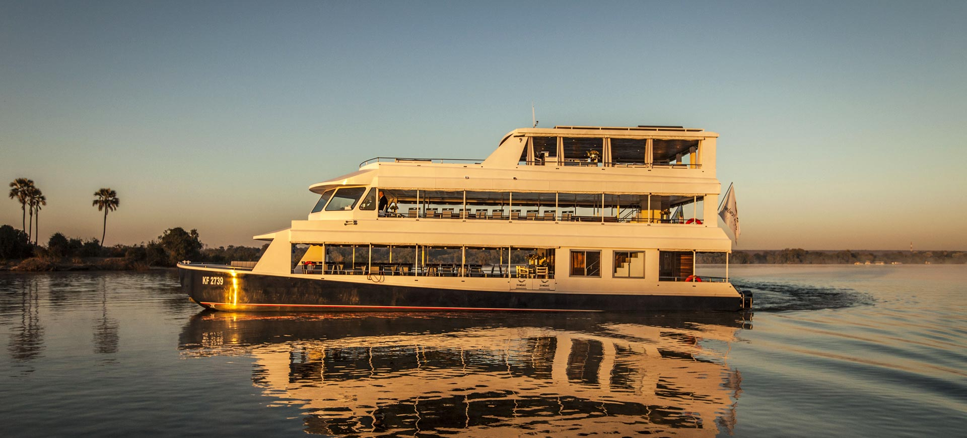 Zambezi River Sunset Cruise Victoria Falls